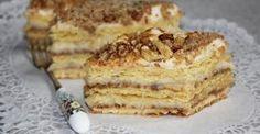 Kijevi krémes Hungarian Recipes, Hungarian Food, Tiramisu, Cookies, Baking, Cake, Ethnic Recipes, Drinks, Crack Crackers