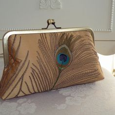 peacock handbag!