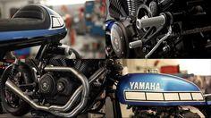 """Yamaha XV950 by Walz Motorrad Fotos & Motorrad Bilder. Nun hat sich auch Marcus Walz der Yamaha XV950 angenommen und liefert das dritte Bike der Yardbuilt-Serie. Sein Werk nennt er """"El Raton Asesino"""". Soweit wir das recherchiert haben, gab es einst einen Stier mit dem Namen """"Raton"""", der """"El Toro Asesino"""" genannt wurde, also der Killer-Stier. Das Bike selbst ist ein Cafe Racer mit aggressiver Attitüde, sehr kurzem Heck und langer Schwinge. Teile: Öhlins Federn; progressive, adaptive Gabel…"""