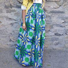Women African Dashiki Elastic Autumn Winter Summer Maxi Beach Skirt Floral Print High Waist Pleated Floor Length Long Skirt Size S Color 1 Maxi Skirt Winter, Beach Maxi Skirt, Summer Maxi, Printed Maxi Skirts, Long Maxi Skirts, Pleated Skirt, Gown Skirt, Dashiki Skirt, African Dashiki
