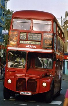 The last days of the 73 RM. North London, East London, Newington Green, Automobile, Finsbury Park, Routemaster, Red Bus, London Bus, London Transport