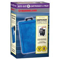 Marineland PA013704 RiteSize Cartridge E 4Pack -- Read more reviews of the product by visiting the link on the image. (Note:Amazon affiliate link)