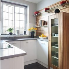 A small kitchen can be also quite functional if you know how to decorate it. You should get the most of the space available, so that you can place all of the kitchen utensils and