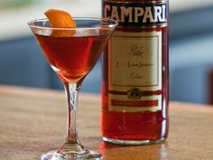 Negroni - classic and variations