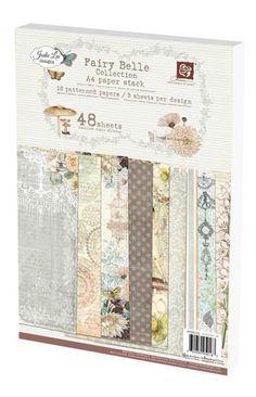 Prima A4 Fairy Belle Paper Pad