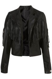 Faux Leather Jacket by Sister Jane**