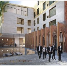 Alison Brooks Architects Wins Competition For Exeter College, Oxford