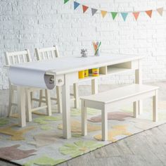 Clic Playtime Vanilla Deluxe Activity Table With Free Paper Roll