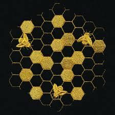 honeycomb embroidery - Google Search Honeycomb, Embroidery, Contemporary, Google Search, Decor, Needlepoint, Decoration, Honeycombs, Decorating