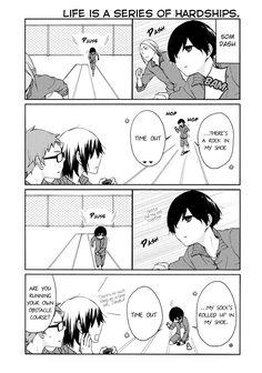 Tanaka-kun wa Itsumo Kedaruge ch.43 page 6