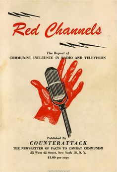 Kitty Foyle book | Red Channels, a pamphlet published by right-wing journal Counterattack ...