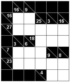 Number Logic Puzzles: 21769 - Kakuro size 1