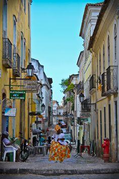 Pelourinho, Salvador - Bahia - Brasil (founded in 1549 by Portuguese settlers)