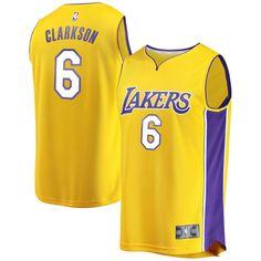 Jordan Clarkson Los Angeles Lakers Fanatics Branded Youth Fast Break  Replica Jersey Gold - Icon Edition 43ebb58e4