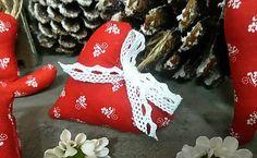 domivecicky / Ozdoba na vianočný stromček Srdiečko