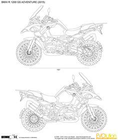 9 BMW R1200GS Adventure Motorcycle decals stickers ideas