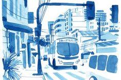 Vergangene Woche wollte der Künstler und Illustrator Christoph Niemann mit seiner Frau zwei sommerliche Tage in Venedig verbringen. Dann kam der Regen über Europa und mit ihm das Chaos. Hier ist Niemanns Reisetagebuch.