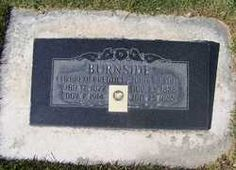 John Mason Burnside 1826-1885 Mount Pleasant City Cemetery Mount Pleasant, Sanpete, Utah