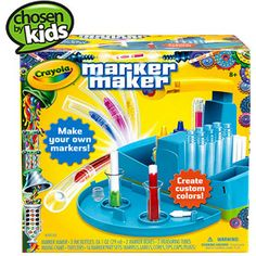 6. Artsy son Crayola Marker Maker Kit #ShopAtHome, #Walmart and #12DaysOfPinning