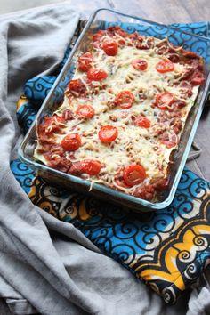 Classic Lasagna - A Family Feast® Low Calorie Recipes, Gluten Free Recipes, Healthy Recipes, Supper Recipes, Great Recipes, Go For It, Lasagna, Delish, Foodies