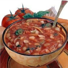 DETOX SOUP 4 quarts filtered or spring water (substitute can of chicken broth for more flavor, which may lessen weight loss detox effect) 1 sm/med head of cabbage, sliced into thin strips 1/2 lb. string beans 2 med-large green peppers, chopped 2 15-oz cans whole or diced tomatoes 3 or 4 chopped carrots 3 or 4 chopped celery stalks 1 large onion, sliced or chopped up – More at http://www.GlobeTransformer.org