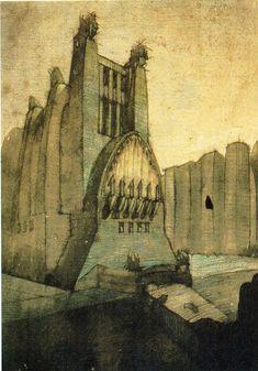 Antonio Sant'Elia, 1913-1916