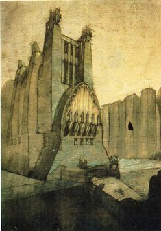 1000 images about hugh ferris on pinterest hugh o 39 brian for Architecture totalitaire