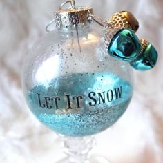 The ornaments are so easy that even entry level crafters and kids can make these impressive looking baubles.