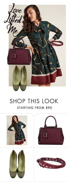 """dress"" by masayuki4499 ❤ liked on Polyvore featuring Miss Patina, Dune, Hogan and Chan Luu"