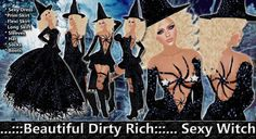 *B.D.R.* Sexy Witch / Witch Costume / Dollarbie