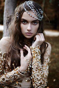 Bejeweled and embellished/karen cox.... Sleeping Beauty Awakes