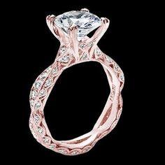 Capri Jewelers Arizona ~ www.caprijewelersaz.com Tacori rose gold