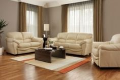 Brown Grey Walls with light furnishings