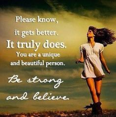 BE STRONG AND BELIEVE
