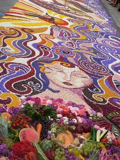 Carpet of flowers  - Italy