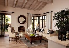 Rancho Valencia Suite Living Room