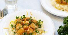 Lapin sauté à l'orange accompagné de risotto crémeux et gremolata. Un plat prêt en 30 minutes, facile, parfumé et délicieux.