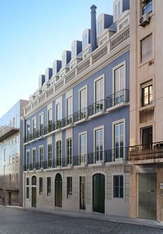Exterior, Project, Portugal, Multi Story Building, Mansions, Architecture, House Styles, Home Decor, Lisbon