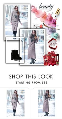 """Loose Dress, Turtleneck Kniting Dress by EUGfashion"" by umay-cdxc ❤ liked on Polyvore featuring Hogan and EUGfashion"