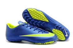 Mercurial Victory X Tf Powder Blue Electrical Green