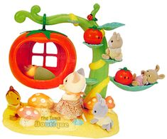 Sylvanian Families Calico Critters Tomato Treehouse