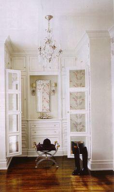 Closet built ins ~ so pretty