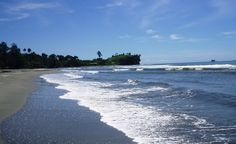 Aitape Beach, Papua New Guinea. But before I go to Aitape, I want to learn how to pronounce it!