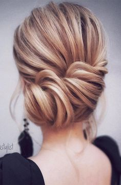elegant updo wedding hairstyles for 2018 brides #weddinghairstyles