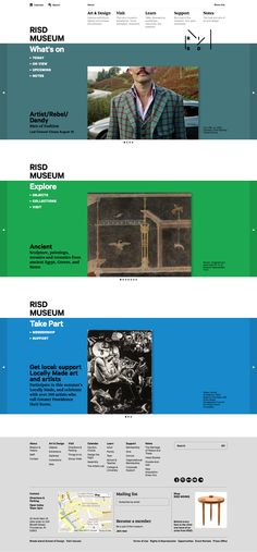 RISD Museum Website