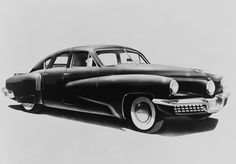 1948 Tucker Sedan The Tucker 48 (named after its model year) was an advanced automobile conceived by Preston Tucker and briefly produced in Chicago in 1948. Only 51 cars were made