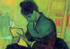 Vincent van Gogh - Vrouw met boek