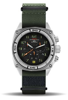 Tactical Military Watches | Predator II | MTM Special Ops Watches