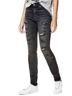 93e37e20c W4FAB4D0GX0 Stretch Denim, Skinny Fit, Skinny Jeans, Black Jeans, Sandals,  Clothes