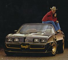 Burt Reynolds and Pontiac Trans Am